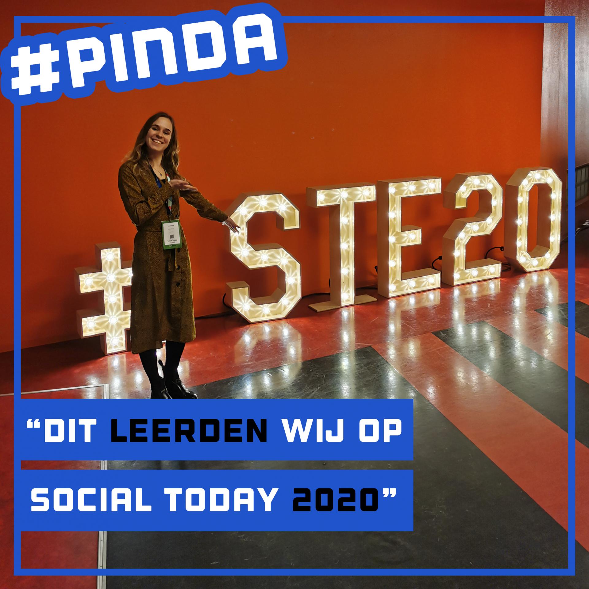 Wat hebben we geleerd op Social Today 2020?