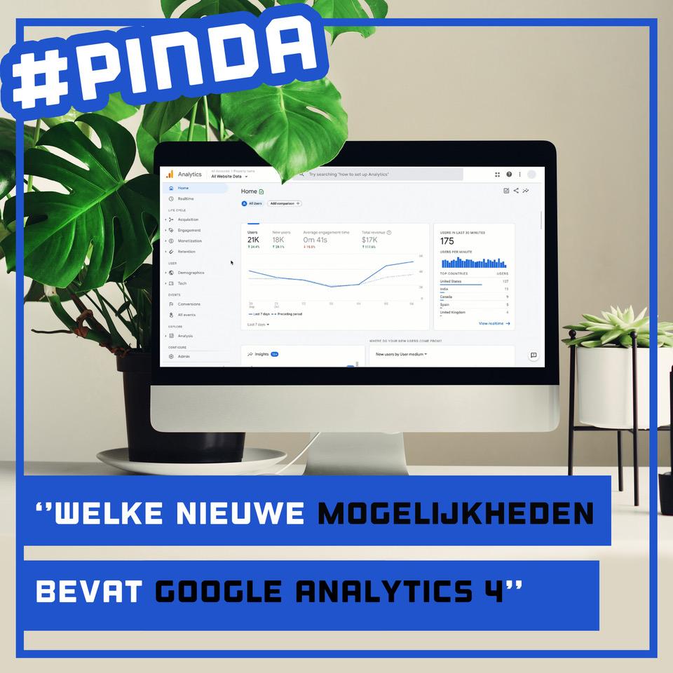 Een compleet nieuw Google Analytics: GA4 is uit!