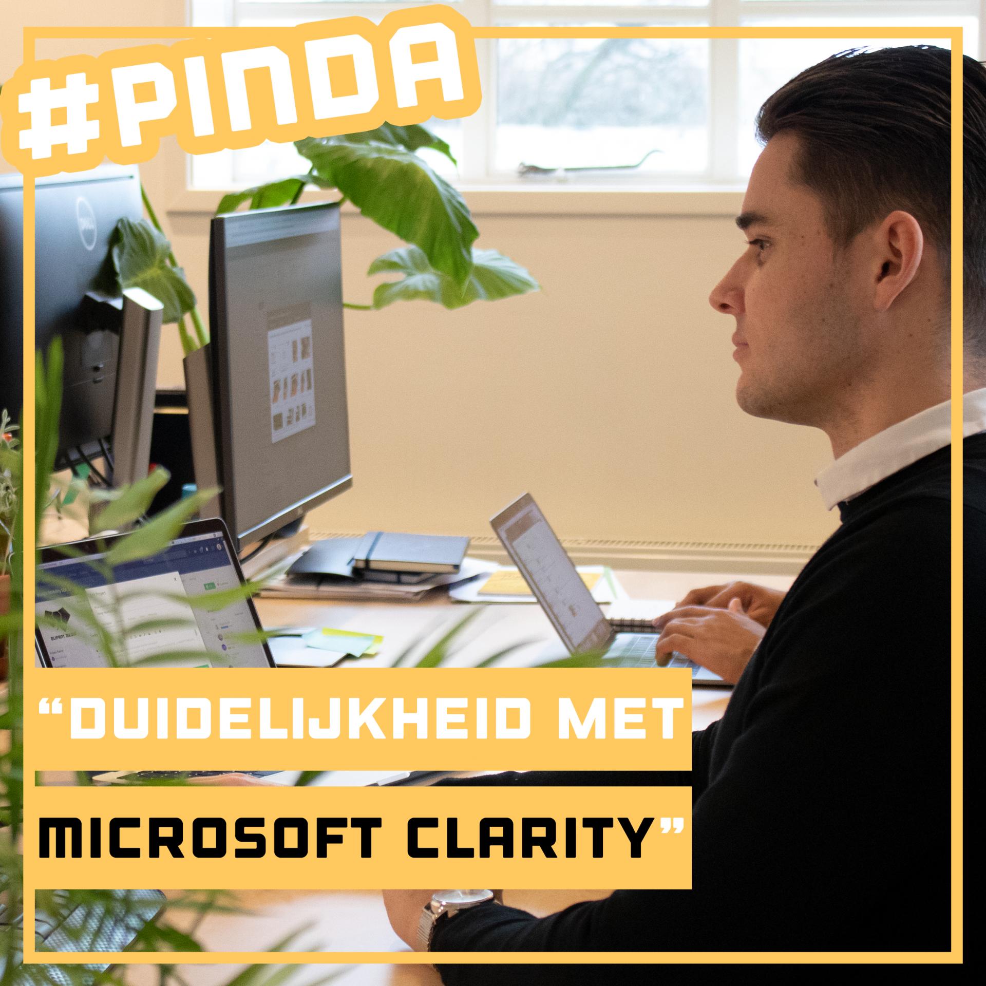 Duidelijkheid met Microsoft Clarity